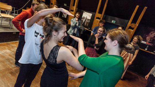 Workshop hos teater ZeBU
