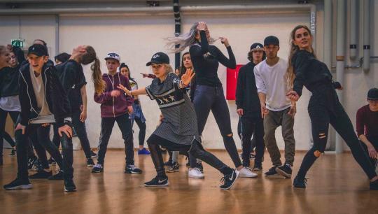 Dans idræt bevægelse