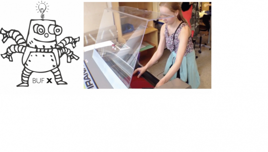 Lær at designe til en lasercutter. Lav din model helt præcis og måske efter mål i bestemte målestoksforhold og se den blive skåret ud med laseren