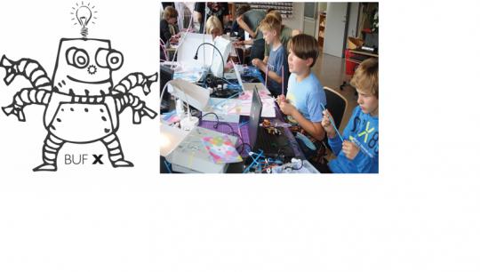 Har du lyst til at tage din klasse med i et makerspace? Kom og få en introduktion til alle de teknologier vi har i BUF X. Såsom 3d printere, lasercutter, robotter, droner, kredsløbsteknologi osv.