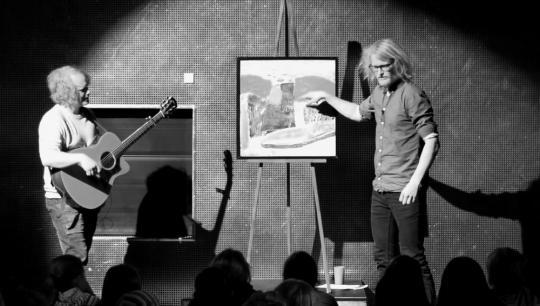 Kunst ud til folket, Søren Mølstrøm, Røverhistorier til kunst