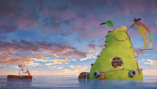 Den utrolige historie om den kæmpestore pære, Nordisk Film