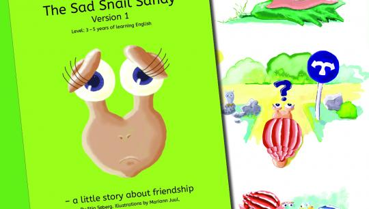 The Sad Snail Sandy - a story about friendship and daring to ask for help