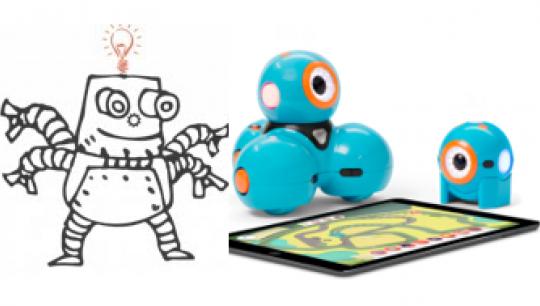 STEM: Robotkodning for begyndere med Dash-robotter
