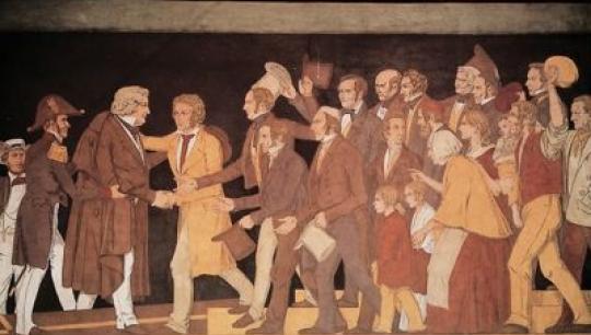 Sonnes frise fra Thorvaldsens Museum